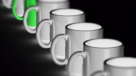 attainment : The mug. Looping footage has 4K resolution. Prores 4444.