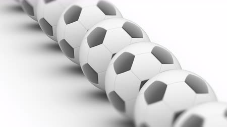 attainment : Soccerball. Looping footage has 4K resolution. Prores 4444. Stock Footage