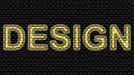 vele : Design. Riprese in loop. Illustrazione.
