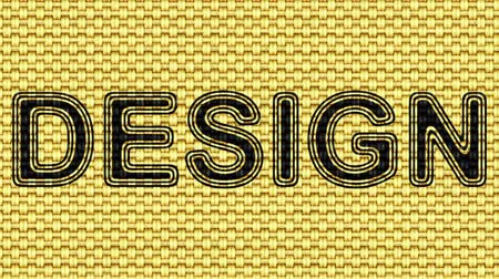 hessian : Design. Looping footage. Illustration. Stock Footage