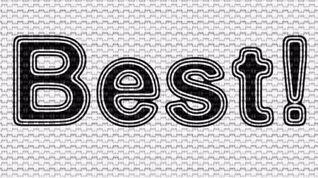 award : Best! Looping footage. Illustration. Stock Footage