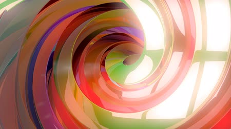 infantil : 3D Colorful Swirls Background