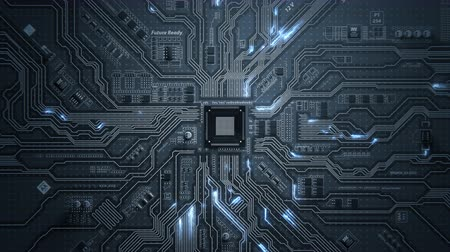 high tech : Motherboard Circuit Background