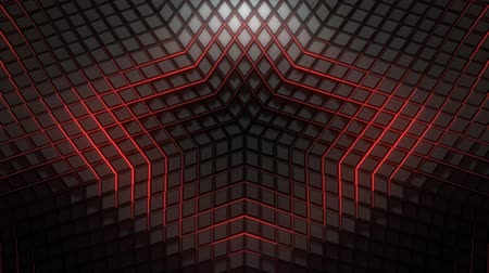 мерцание : Seamlessly looping VJ 3D pattern animation for your video backgrounds, visual performance at concerts, presentations, dance parties, music clips, nightclubs, corporate events, fashion show stages. Also useful for VJ editors or other audio-visual event ser Стоковые видеозаписи