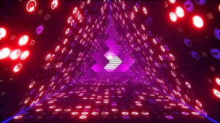 psicodélico : Seamless loop 3D animation for VJ editors, motion designers, visual projections of the concert, fashion show, stage design, party or your presentation, DVD, music clips or video art