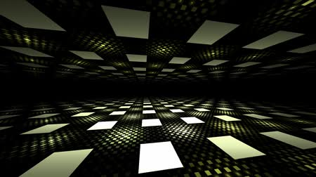obdélníkový : 3D seamless illusion perspective geometric background