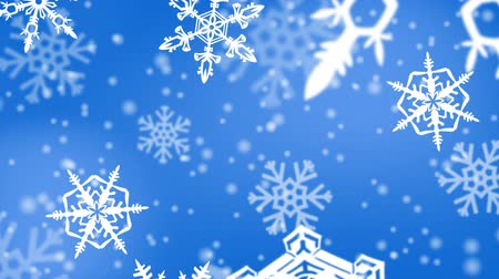 sniezynka : christmas snowflakes background
