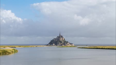 normandiya : Mont Saint Michel in France