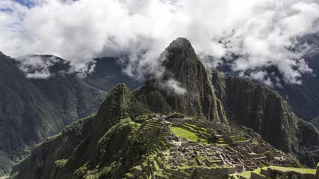 persuasion : Machu Picchu in the clouds Stock Footage