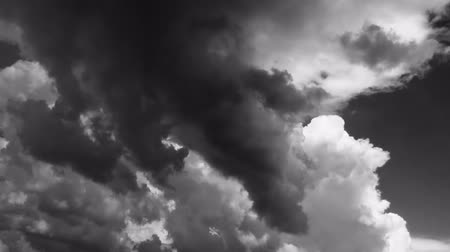 video loop : This is a cinematic dramatic time lapse epic video of a Stormy Clouds in Black White color. Really nice colours and pleasure feelings guaranteed!: You can use this video in cinematic credits, movie background, in your original projects or as a websites ba