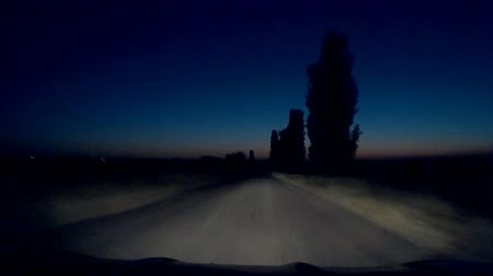 трейлер : This is mysterious mystical strange Dark Night Mysterious Mystical Dangerous Road 30s video. Really nice colours and pleasure feelings guaranteed!: You can use this trailer video in cinematic credits, film movie background, in your original projects or as