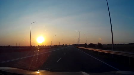 мистический : This is mysterious mystical strange Sunset Sunny Road Driving 30s video. Really nice colours and pleasure feelings guaranteed!: You can use this trailer video in cinematic credits, film movie background, in your original projects or as a websites backgrou