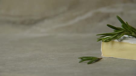 ипотека : Camembert with rosemary