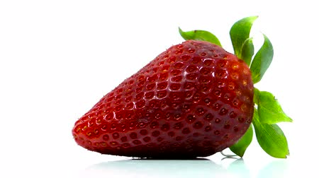 backgroundpictures : Strawberry on rotating display