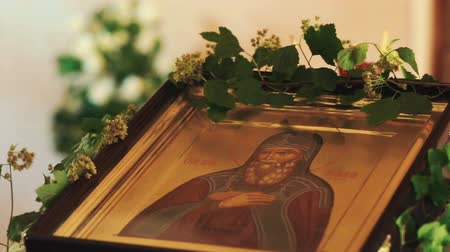 iconography : Orthodox icon in the Church