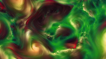 ART Abstract Colorful Vibrant Swirling Colors Explosion Paint Blast Texture Background Video. A mixture of red, green, yellow colors Stock Footage
