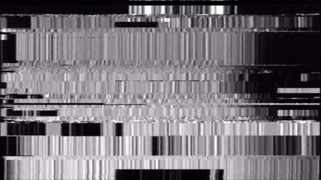 VHS Glitches Analog Abstract Digital Animation. Old TV. Glitch Error Video Damage. Signal Noise. System error. Unique Design. Bad signal. Digital TV Noise flickers. White Glow