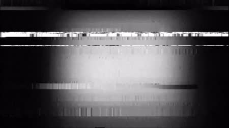 VHS Glitches Analog Abstract Digital Animation. Old TV. Glitch Error Video Damage. Signal Noise. System error. Unique Design. Bad signal. Digital TV Noise flickers. Blue luminous spot
