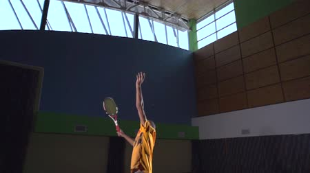 tennis game : Tennis shots: Serve (slow motion)