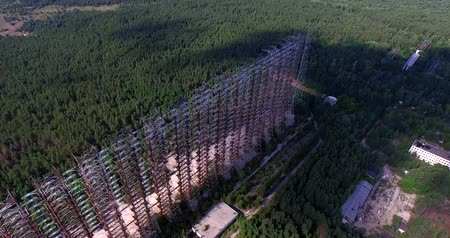 chernobyl : Duga, the Steel Giant Near Chernobyl Aerial, 4K.Duga - Soviet over-the-horizon radar system or The Russian Woodpecker.
