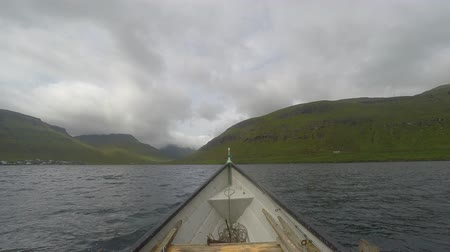 kannur : Fishing in the countryside in the Faroe Islands Stock Footage