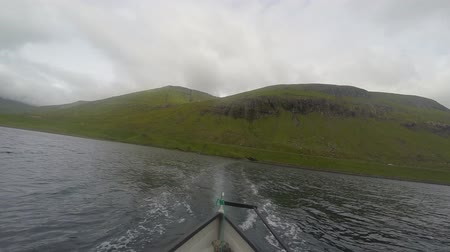 cochin : Fishing in the countryside in the Faroe Islands Stock Footage