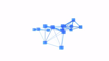 teamwork : abstract 3d network