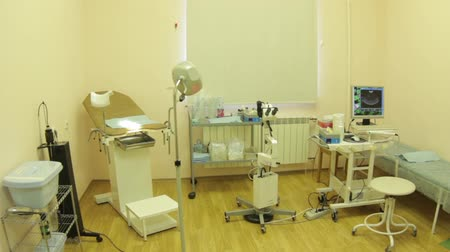 gynaecology : Gynecologic Cabinet in medical clinic