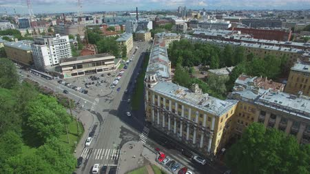 kazanskiy : Shooting from a flying quadrocopter over the city of St. Petersburg. Part 2
