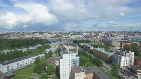 st petersburg : Shooting from the flying quadrocopter of the city of St. Petersburg. Part 2