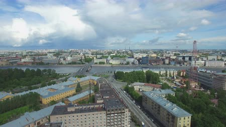 kazanskiy : Shooting from the flying quadrocopter of the city of St. Petersburg. Part 5