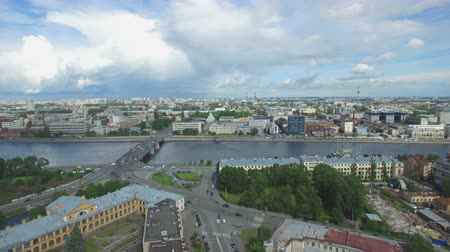 st petersburg : Shooting from the flying quadrocopter of the city of St. Petersburg. Part 7