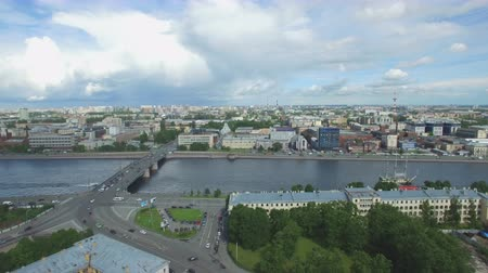 st petersburg : Shooting from the flying quadrocopter of the city of St. Petersburg. Part 8