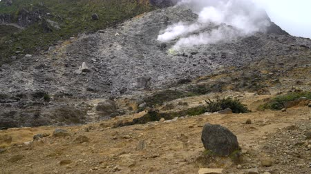 fumarole : Selection of hot volcanic gas. Fumaroles