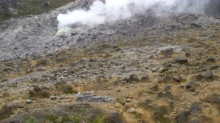 furnas : Fumarola on volcano