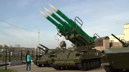 Self-propelled launch system of anti-aircraft missile system.
