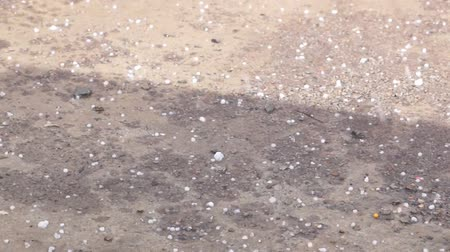 pogoda : Bad weather. Heavy rain and large hail Wideo