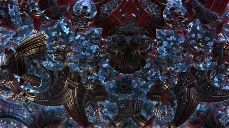 clareza : Small metal items 3d fractal of order chaos in future city. Development of civilization in galaxy spiral galaxy. High-tech settlement on space cosmos orbit. Energy of metal concept.
