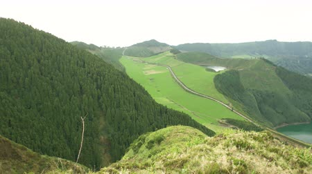 sete : High Up View Over the Sete Cidades