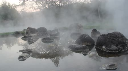cold desert : Chae Son hot water in Nation Park,lampang,thailand