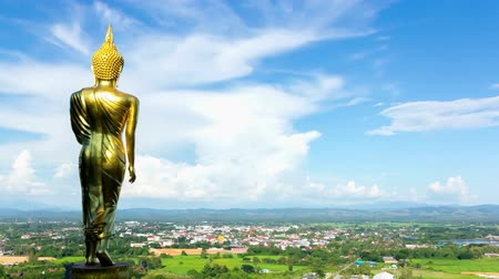 divino : Big buddha statue on mountain Nan,Thailand