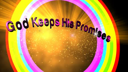 pacto : God keeps His promises.