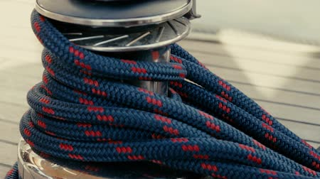 такелаж : Winch With Rope close up