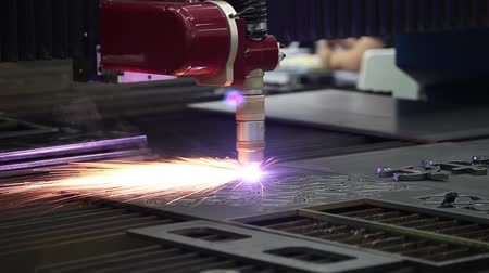 плазма : Machine for constant metal laser cutting