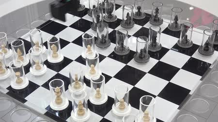Chess board game with motion control technology