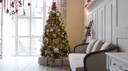 stockings : Christmas and New Year interior decoration
