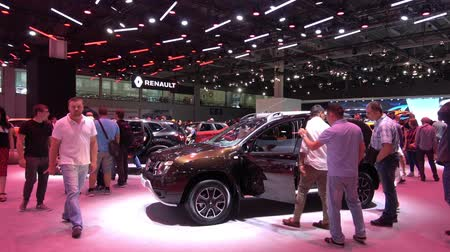 Renault exhibition stand on Moscow International Automobile Salon 2018 in Russia
