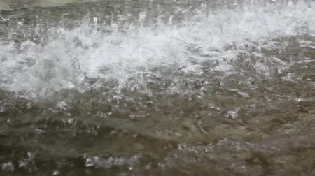 ulewa : Close-up of rainfall Wideo