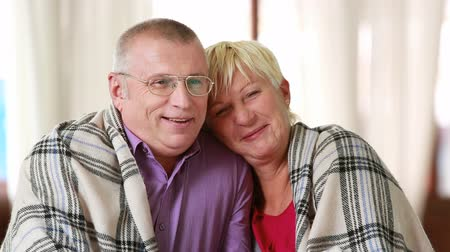 relação : Happily married senior couple enjoying their moments of happiness Stock Footage