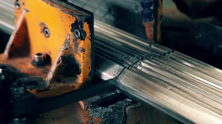 metal worker : Industrial worker cutting metal  HD